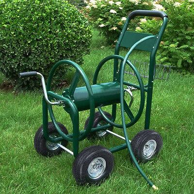 Gartenschlauchwagen Metall Schlauchwagen Schlauchaufroller Schlauchtrommel