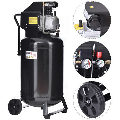 21 Gallon 125 PSI Vertical Air Compressor Cast Iron 2.5HP Motor Portable New