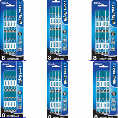 Lot Of 48 Tubes 960 Refill Hb 0.7mm Quality Mechanical Pencil Leads Wholesale