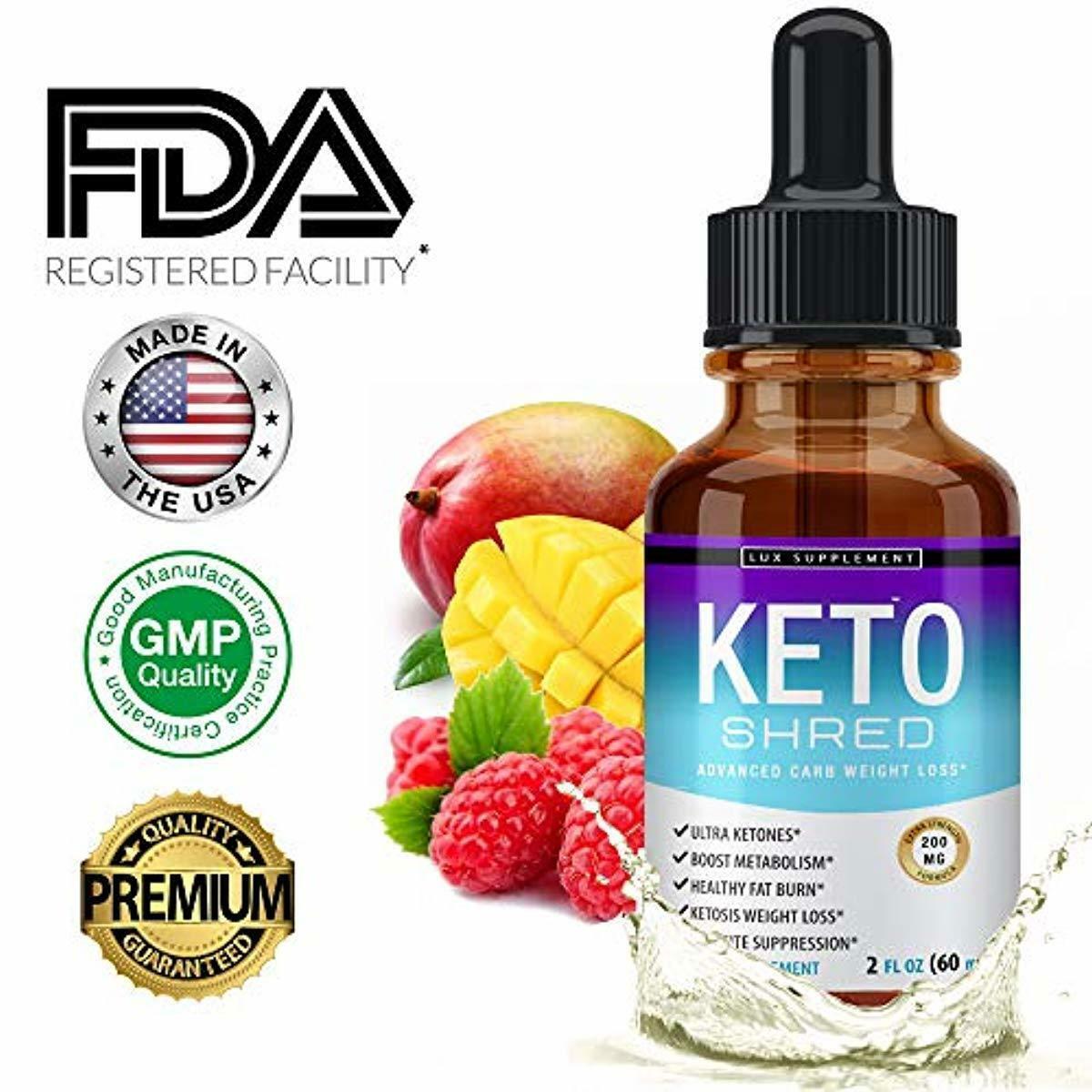 lux supplement keto shred drops liquid advanced