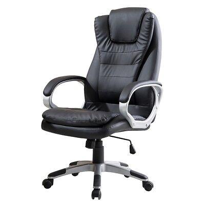 Delman Bürostuhl Racing Chair Bürosessel Chair Schwarz 02-1001 BK
