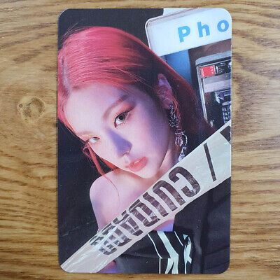 Yeji Official Photocard ITZY Guess Who Genuine Kpop