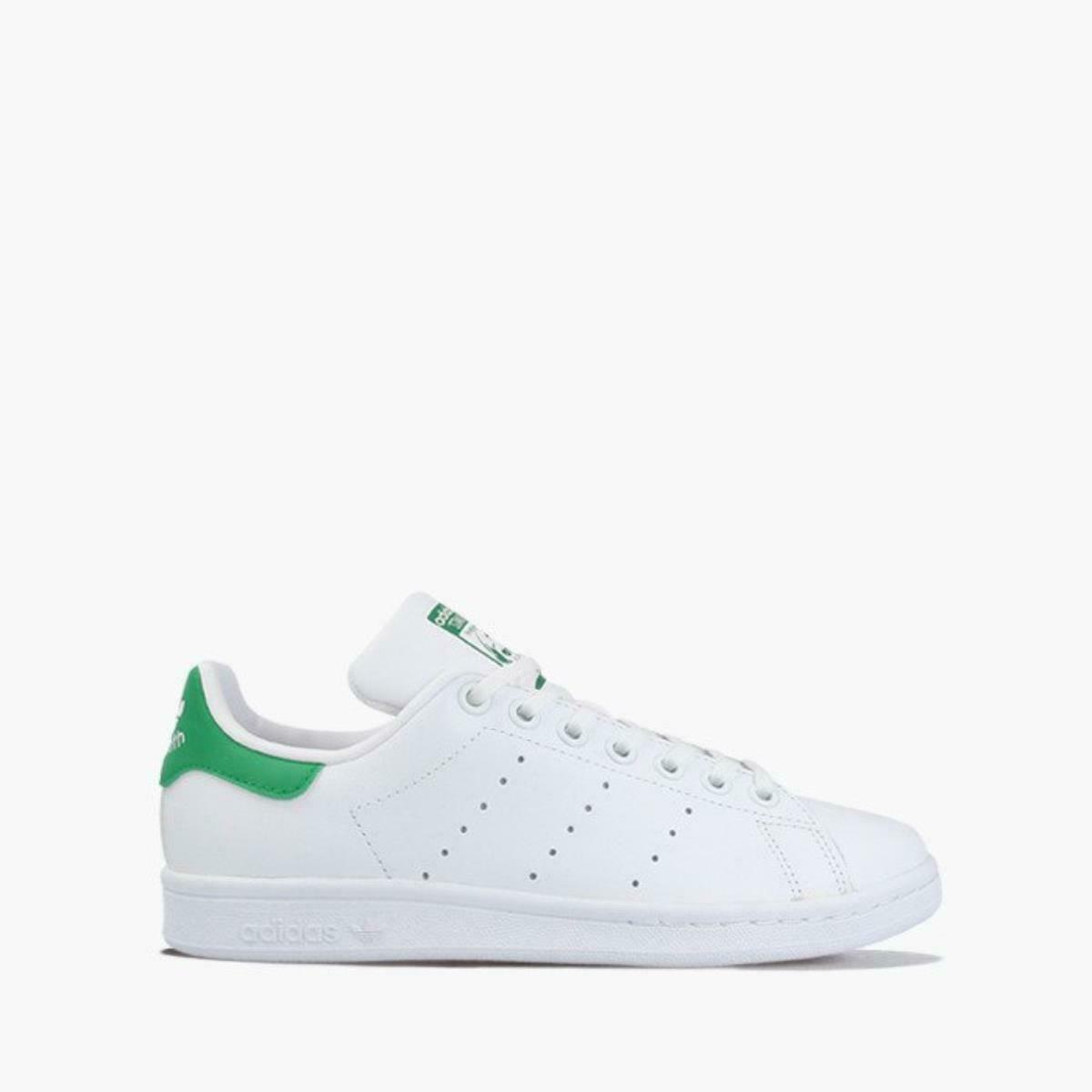 scarpe ADIDAS originals STAN SMITH M20605 StanSmith bianco verde DONNA SNEAKERS