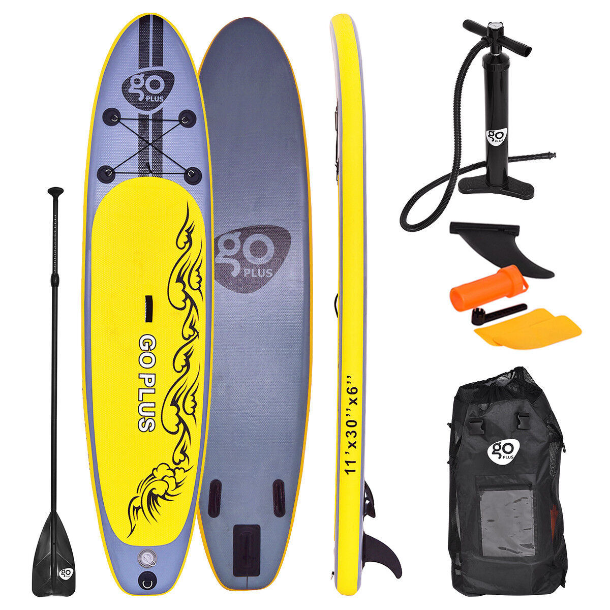 GO PLUS Inflatable SUP