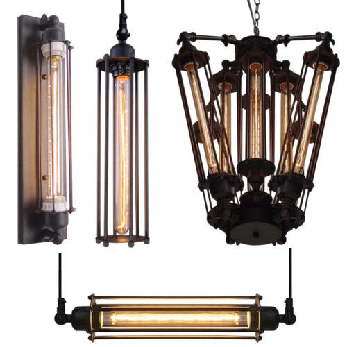 Commercial Lighting Types: Industrial Wall Light Retro Pendant Light Chandelier