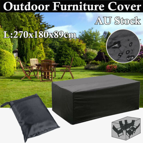 Garden Furniture - NEW Waterproof Outdoor Furniture Cover Garden Patio Rain Snow UV Table Protector