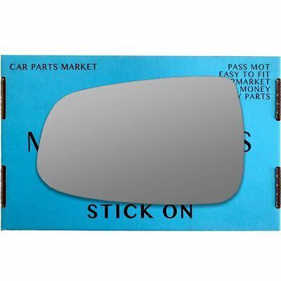 Left Passenger side wing mirror glass for Tesla Model S 2012-2020