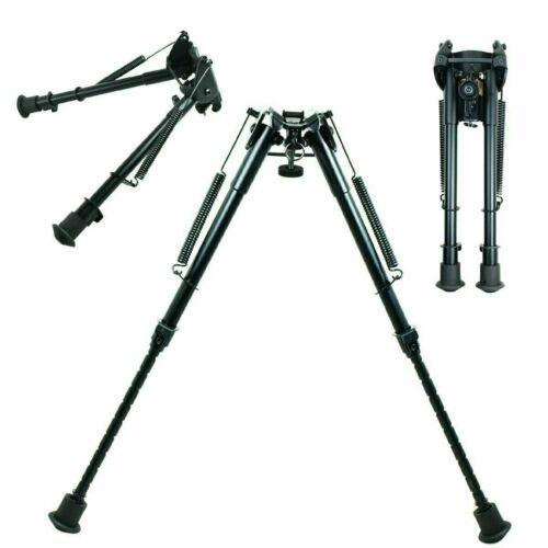 "9"" to 13"" Adjustable Spring Return Hunting Rifle Bipod Sling Swivel Mount"