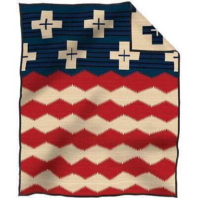 Pendleton Brave Star Blanket 64x80 Made in USA!!