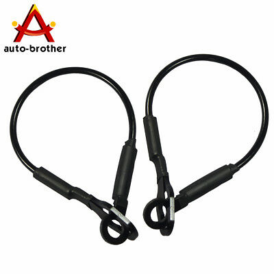 Set of 2 Tailgate Tail Gate Cables For Ford 1993-2011 Ranger Mazda Pickup Truck