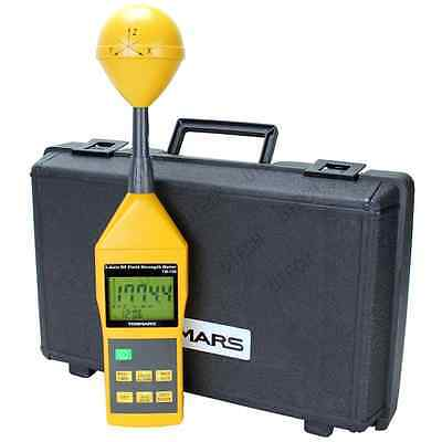 New Tenmars Tm-196 3-axis Emf Rf Electromagnetic Field Strength Meter 10mhz-8ghz