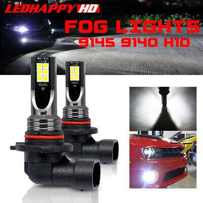 2x 9145 9140 LED Fog Light Bulbs for Ford F-150 2004-2014 Converesion Kit 6000K