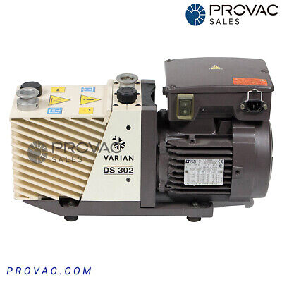 Varian Ds-302 Rotary Vane Pump Rebuilt By Provac Sales Inc.