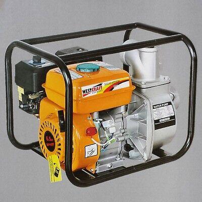 "30000 l/h 2"" Benzin Wasserpumpe Wasser Motorpumpe Teichpumpe Gartenpumpe"