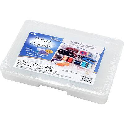 Bulk Buy 2-Pack x 5.3in. Darice Bead Organizer 6.3in