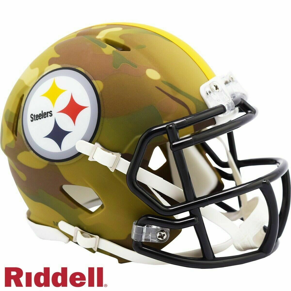 Pittsburgh Steelers Camo Alternate Speed Mini Helmet Replica