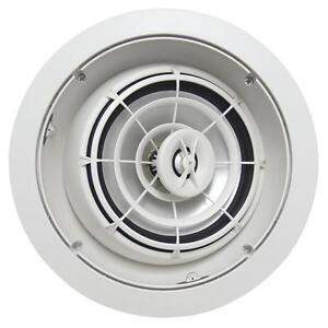 SpeakerCraft-AIM8-Three-High-Fidelity-Pivoting-In-Ceiling-Speaker-Each-White