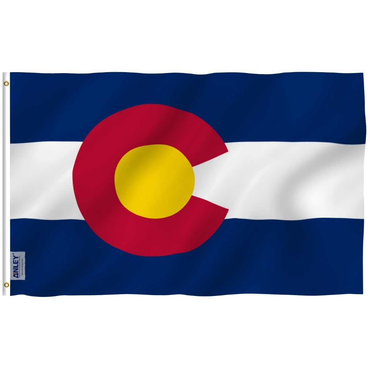 ANLEY Colorado State Flag CO Banner States of US Flags Polye