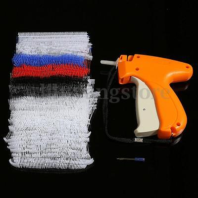 1x Clothes Garment Price Label Tagging Color Tag Gun With 1000 Barbs 5 Needles