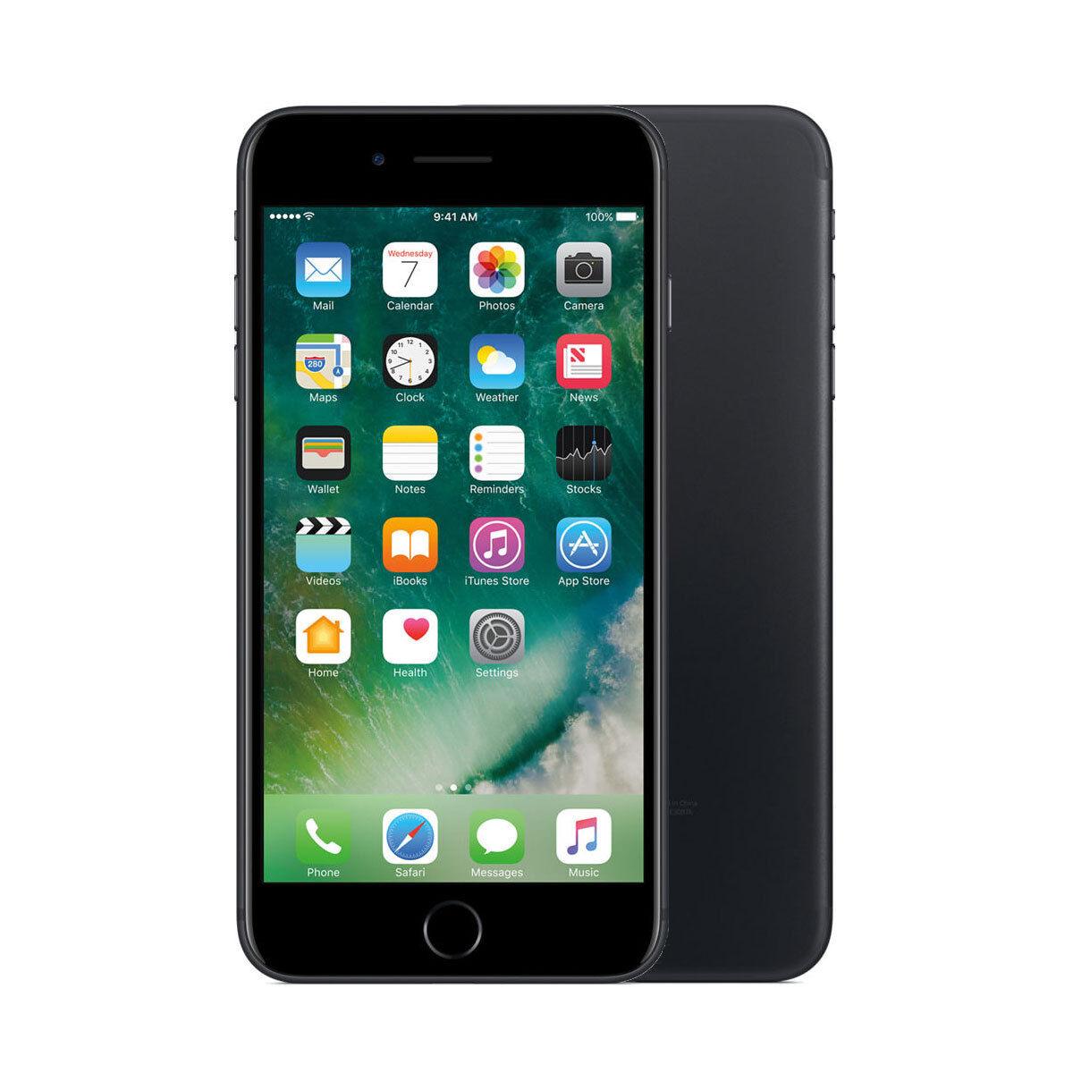 Apple iPhone 7 Plus 128GB Factory Unlocked 4G LTE iOS WiFi Smartphone