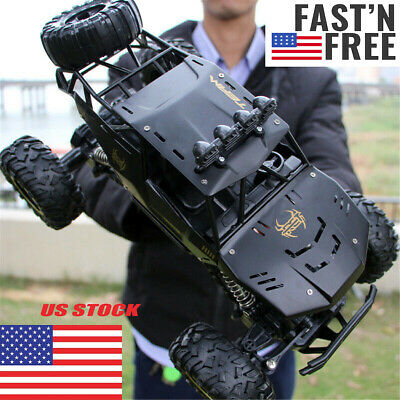 Monster Truck 2.4G RC Rock Climbing Car Off-Road Remote Control Drift Nitro