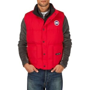 Red Canada goose freestyle vest M