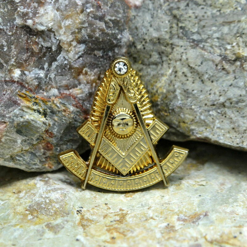 Masonic Lapel Pins Badge Mason Freemason B73 Past Master