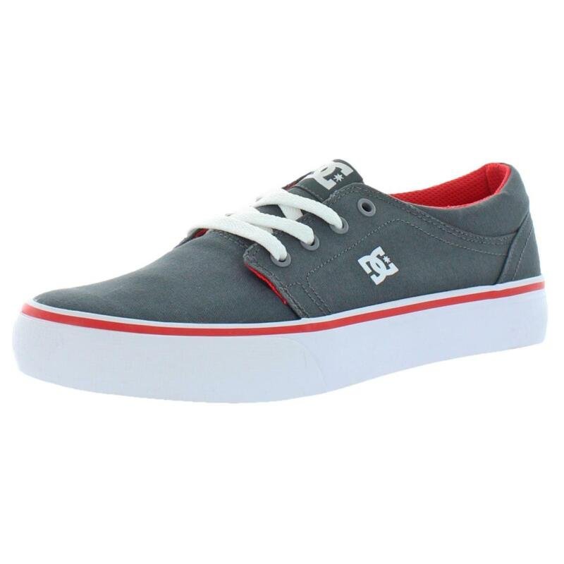 DC Boys Trase TX Canvas Low Top Trainers Skateboarding Shoes Sneakers BHFO 3658