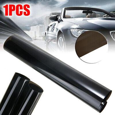 Dark Black Tint Film Sticker Headlights Fog Rear Light Tail Car Vinyl Wrap Sheet