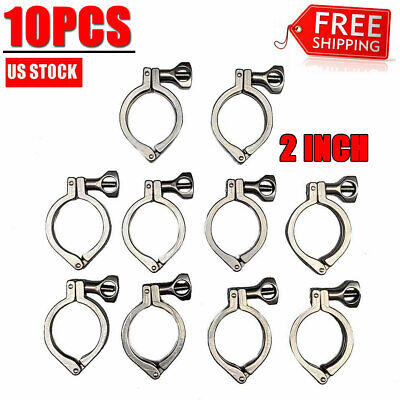 102tri Clamp Clover Sanitary For 64mm Od Ferrule Flange Stainless Steel 304 Us