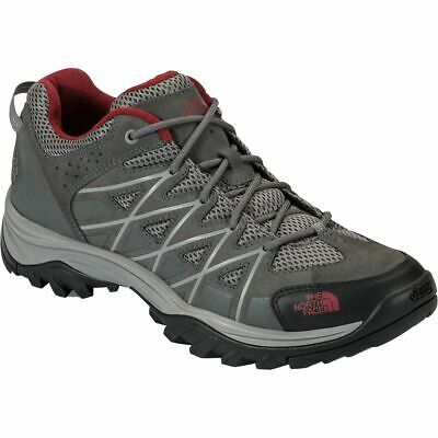 Men's North Face Storm Hiker Shoes - GraphiteGrey/BikerRed - Best