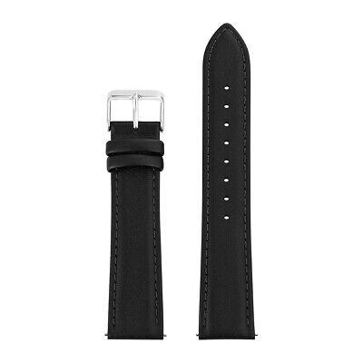 Sterzinger Herren Uhrenarmband Echtleder, Made in Italy schwarz