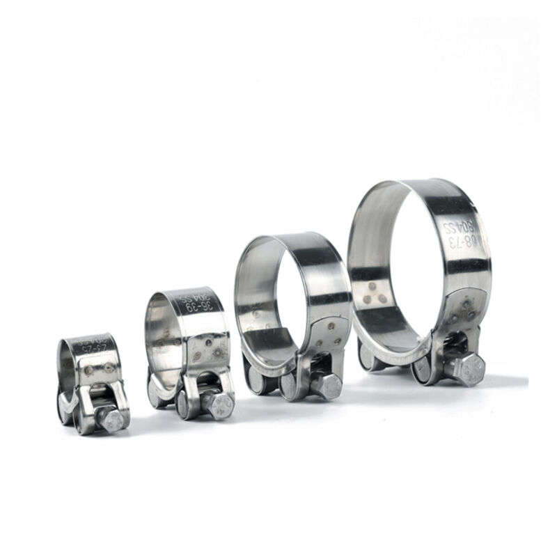 Premium Stainless Steel Or Galvanized T-Bolt Turbo Silicone Hose Clamp ALL Size