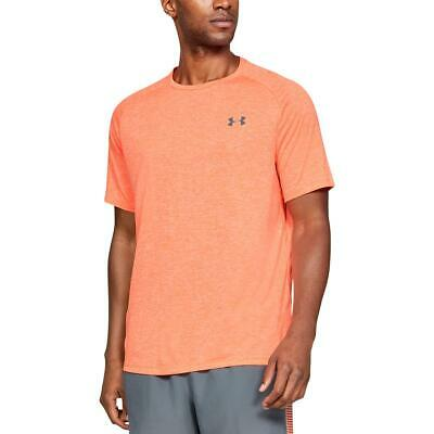 Under Armour Mens The Tech Tee Fitness Workout T-Shirt Athletic BHFO 0205