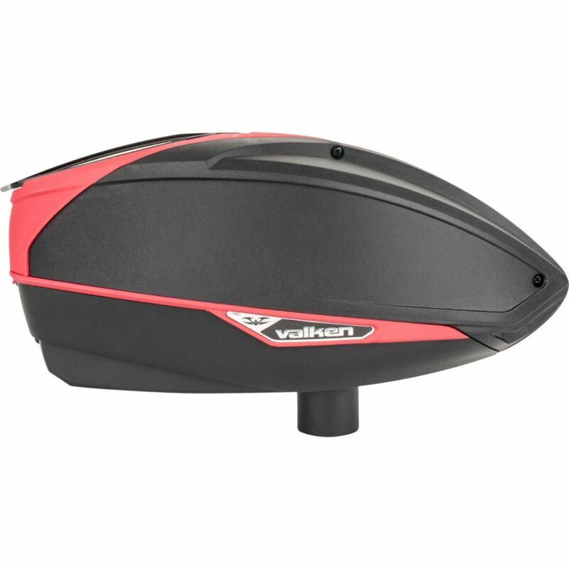 Valken VSL Paintball Loader - Black / Red