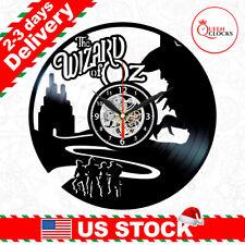 The Wizard of Oz Vinyl Record Clock Wall Art Bedroom Decor ...