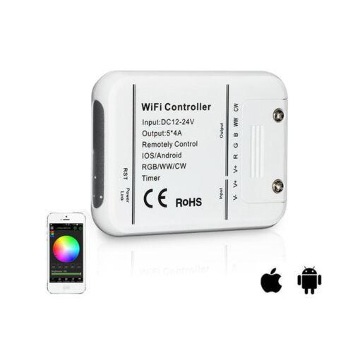 WIFI LED Light Controller RGB RGBW RGBWW 5 Kanal Smartphone