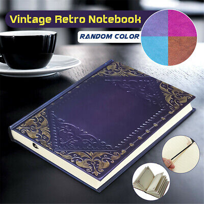 Classic Vintage Plaid Framed Personal Notebook Organiser Diary Journal Note