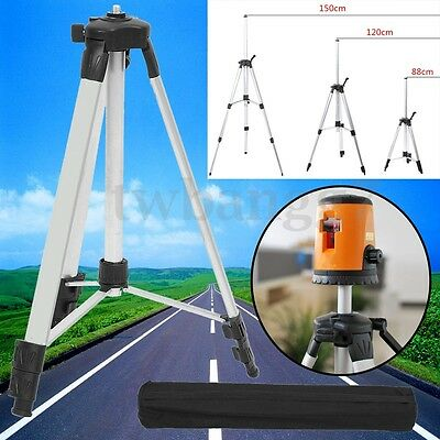 1.5m Universal Adjustable Alloy Tripod Stand Extension For Laser Air Levelbag