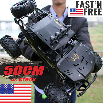4WD RC Monster Truck Off-Road Vehicle 2.4G Remote Control Crawler Car XYCQ !