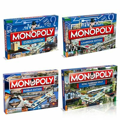 Monopoly City Editions – Find Your City of The Classic Family Board Game!