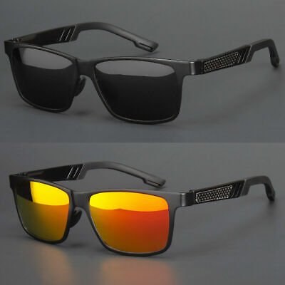 Polarized Aluminium Men Sunglasses Outdoor Driving Sun Glasses Sport Eyewear