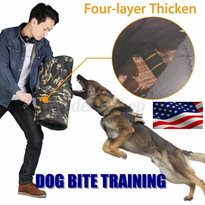 Camouflage Dog Training Bite Sleeve Thickened Arm Protection For Large Young Dog