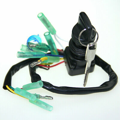 Ignition Main Key Switch Set 703-82510-43-00 for Yamaha Outboard Motor Control