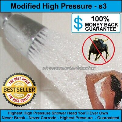 High Pressure Shower Head The Original Modification swb-s3 Better Blast (Best Delta Shower Head)