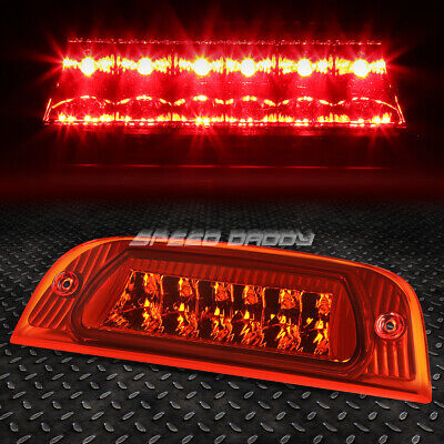 FOR 02-07 JEEP LIBERTY RED HOUSING REAR THIRD 3RD TAIL BRAKE LED LIGHT LAMP 02 Jeep Liberty Tail Light