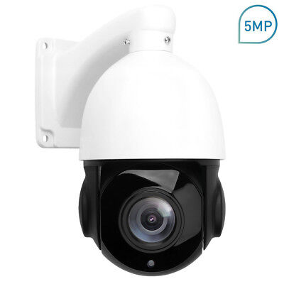 POE PTZ IP Camera 5MP Super HD 2592x1944 Pan/Tilt 30x Zoom Speed Dome (Poe Ptz Camera)