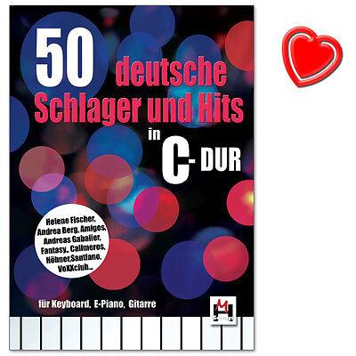 50 deutsche Schlager und Hits in C-Dur - Bosworth - BOE7826 - 9783865439369