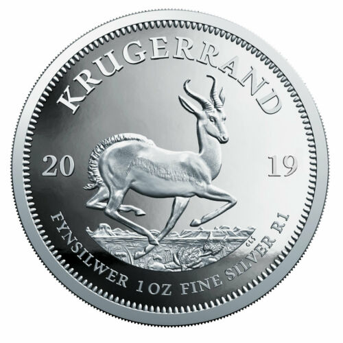 2019 South Africa 1 oz Silver Krugerrand Gem Proof Coin Box COA SKU56655