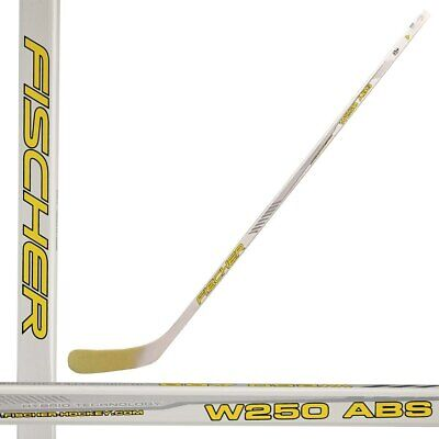 Fischer W250 ABS Youth Wooden Hockey Stick - Straight Blade (NEW)